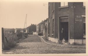 RP: LODELINSART , Belgium , 1930-40s ; Rue Des Ponts