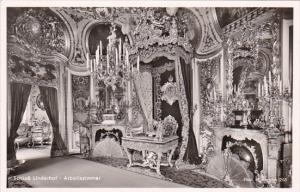 Germany Schloss Linderhof Arbeitszimmer Real Photo