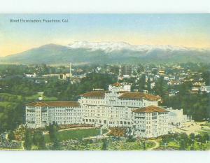 Unused Divided Back HUNTINGTON HOTEL Pasadena California CA hr9297-12