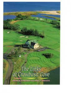 The Links, Crowbush Cove, Golf Course Prince Edward Island, Large 5 X 7 Postcard