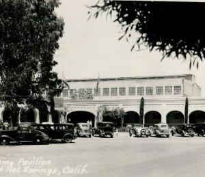 1930's RRPC Pavilion Boyes Hot Springs Sonoma, CA. Postcard P91
