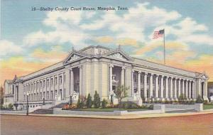 Shelby County Court House, Memphis,Tennessee, 30-40s