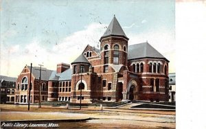 Public Library Lawrence, Massachusetts