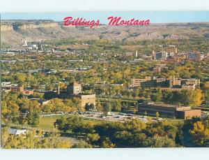 Pre-1980 AERIAL VIEW Billings Montana MT A4936
