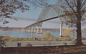 The Miramichi Centennial Bridge,  Chatham,  New Brunswick,  Canada,  40-60s