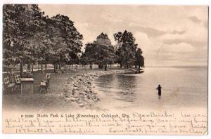 North Park & Lake Winnebago, Oshkosh Wis