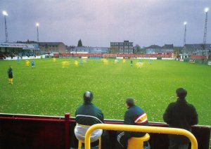 Non-League Football Ground Postcard, Erith & Belvadere FC, Park View, Welling