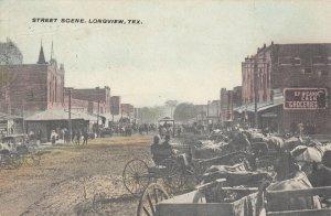 LONGVIEW , Texas, 1900-10s ; Main Street