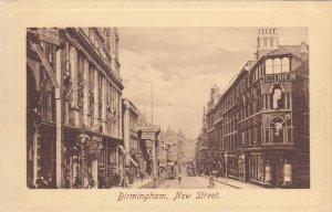 TUCK #2454; BIRMINGHAM, England, United Kingdom; New Street, Cuccenheim, 00-10s