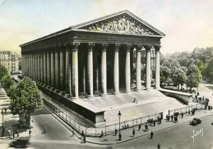France - Paris, Eglise de la Madeleine