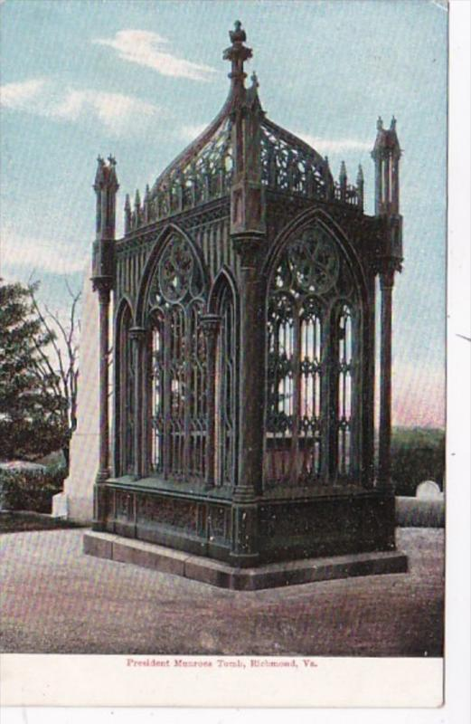 Virginia Richmond President Monroes Tomb