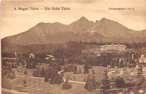 B17039 Hungary Slovakia Hohe Tatra Tatralomnicz