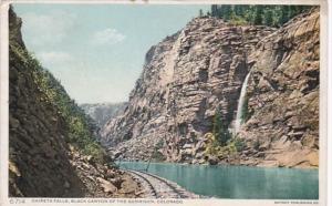 Colorado Chipeta Falls Black Canyon Of The Gunnison Detroit Publishing