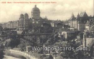 Bern Swizerland, Schweiz, Svizzera, Suisse Kirchenfeldbrucke, Bundespalast un...