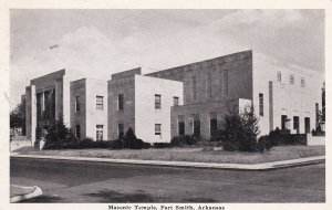 Masonic Temple, Fort Smith, Arkansas, PU-1942