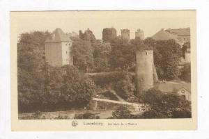 Luxembourg, Les tours du  Rham , 1910s
