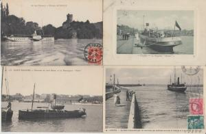 SHIPPING NAVIGATION PAQUEBOTS STEAMERS SHIPS NAVIRES 350 CPA (pre-1940)