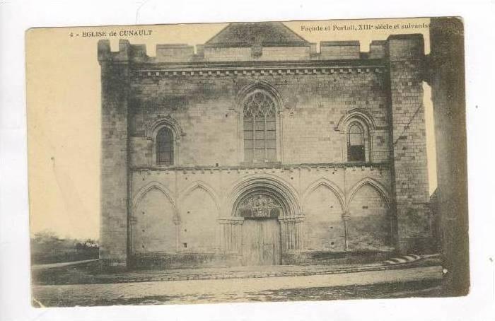 Eglise de CUNAULT, France, 00-10s