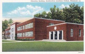 HAMMOND, Louisiana, 1910s ; Education Building, Southeastern Louisiana College