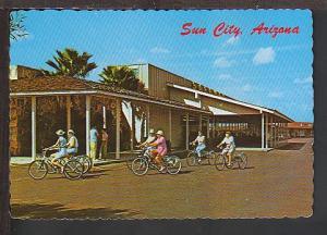 Bicycling Sun City AZ Postcard BIN