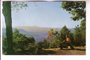 Man on Bench, Kanuga Episcopal Center, Hendersonville, North Carolina, Photo ...
