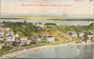 Victoria BC Mount Baker from Shoal Bay c1949 Coast Publishing Postcard G98