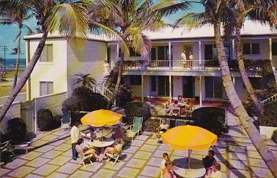 Florida Delray Beach Tropical Patio At The Talbot House On The Ocean