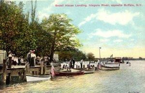 Buffalo, New York - Bedell House Landing, Niagara River - c1908