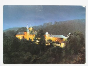 1973 Burg Schnellenberg AUSTRIA Vintage Chrome Postcard to Spain