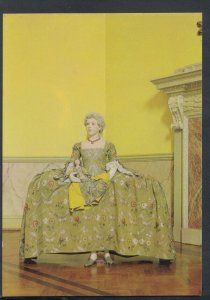 Fashion Postcard - Bath - Late 1740's Little Girl's Formal Brocade Gown T8351