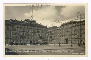 RP: Innsbruck, Austria, 00-10s   Sud Tirolerplatz mit Hotel Europa u. Hotel T...