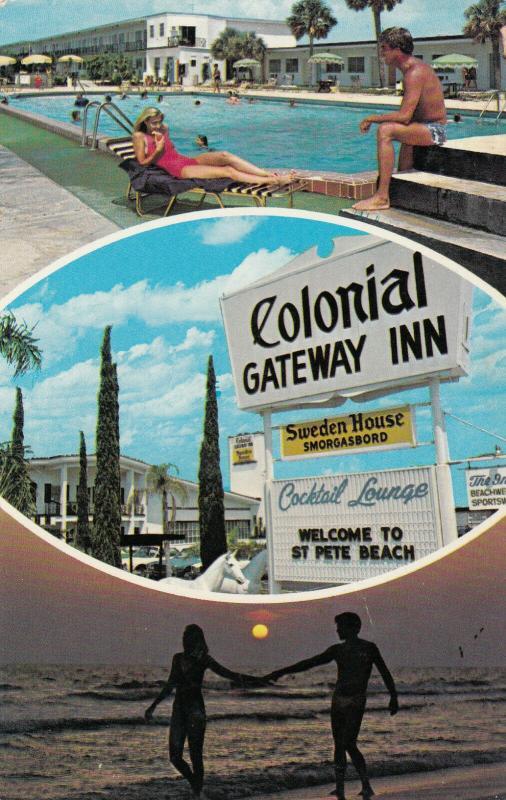 ST. PETE Beach , Florida , 50-60s ; Colonial Gateway Inn