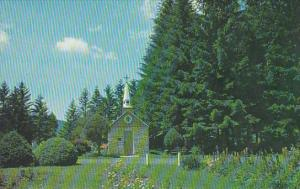 Our Lady Of The Pines Church Horse Shoe Run West Virginia Smallest Memorial C...