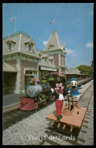 Train Station - Mickey and Donald Duck