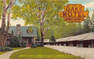 California, The Oaks Motel, Armstrong's Proprietors, Mount Shasta 1954