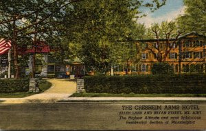 Pennsylvania Philadelphia The Cresheim Arms Hotel Curteich