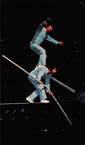 Carrillo Brothers - High Wire Heroism Ringling Brothers Circus Unused