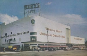 ST PETERSBURG, Florida, 50-60s; Webb's City, World's Most Unusual Drug Store