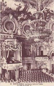 Le Casino, Salle De Theatre, La Loge Du Prince, Monte-Carlo, Monaco, 1900-1910s