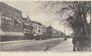 MASON CITY , Iowa , 1901-07 ; Main Street