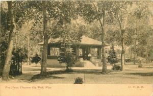 Cheyenne City Wyoming 1908 Rest House Postcard Tom Jones 3336
