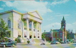 North Carolina Wilmington Hanover County Court House & City Hall 1955