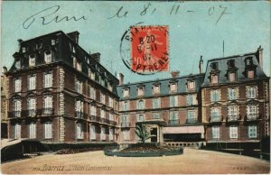 CPA Biarritz Hotel Continental FRANCE (1126925)