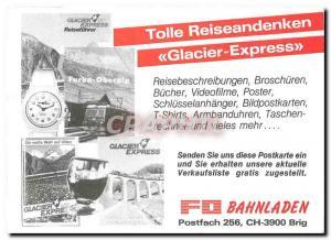 Modern Postcard Furka Oberalp Bahn