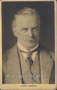 Lloyd George France, Carte, Unused