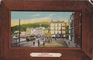 Rothesay , Isle of Bute,  Argyll and Bute, Scotland. Guildford Square, 00-10s