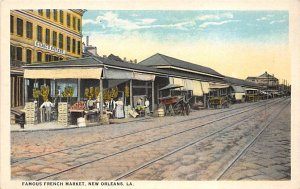 Advertising Post Card Famous French Market, Syrup New Orleans, LA, USA Unused