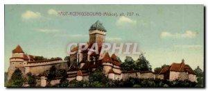 Postcard Old Hochk?nigsburg Alsace