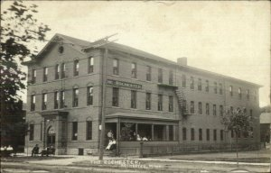 Rochester MN The Rochester Hotel c1910 Real Photo Postcard