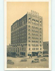 1930's HOTEL SCENE Hagerstown Maryland MD H0552